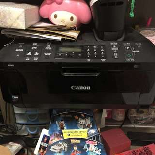 Canon printer with copy, scan and fax
