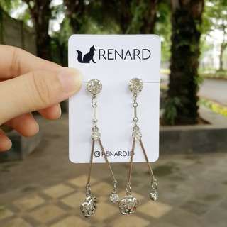 Piyu Earring / anting cantik / anting manis / anting keren / anting gaul / anting model / anting korea / anting import / anting fashion / anting pesta / anting lucu / anting imut