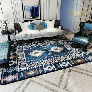 Carpet karpet patchwork quilting shabby shabbychic mewah turki cantik home set perlengkapan rumah european turkey