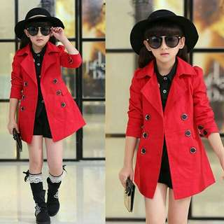 Coat marlion kid merah