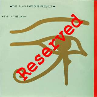 alan parsons Vinyl LP, used, 12-inch original pressing