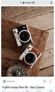 camera - instax 90