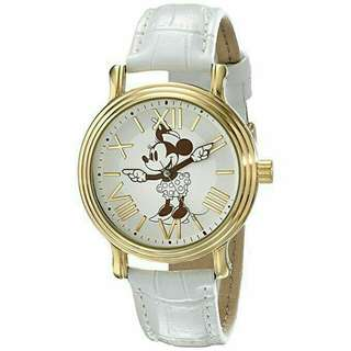 Women's Watch Disney Minnie Mouse Leather White W001859
