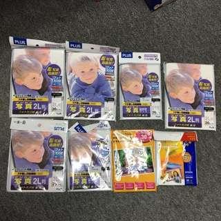 [日本製]各款5R,4R,3R相紙-KODAK,PLUS送ESPON1包
