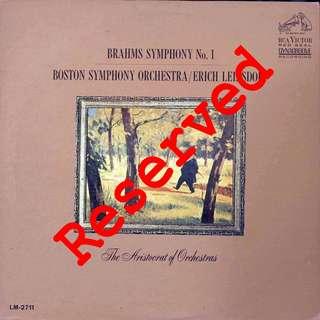 classical, Vinyl LP, used, 12-inch original pressing