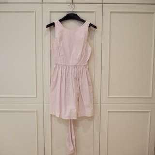 NEW ZARA light pink Dress