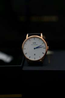 Jam Daniel Wellington 'Dapper' sheffield 38mm BNOB ORIGINAL