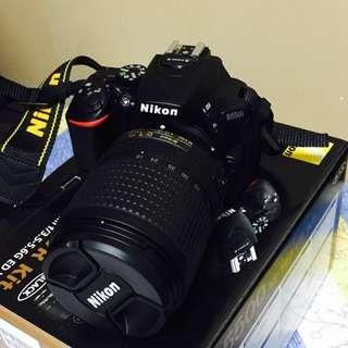 Nikon d5500 dslr w/140mm lens