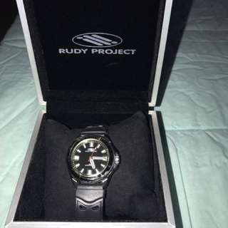 W/ FREEBIE! Original Rudy Project unisex sports watch (w/ date)