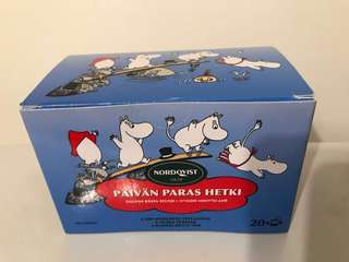 Moomin tea bags from Finland