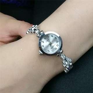 Rhinestone Crystal Bracelet Watch
