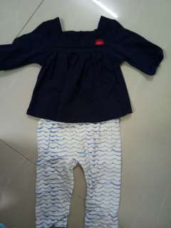 Poney top&pants (set)