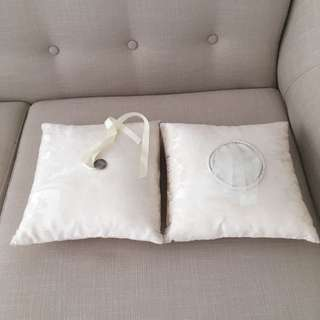 Wedding Pillow (Coins and Ring)