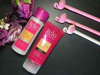 Belo Pore Minimizing Toner and Face Wash