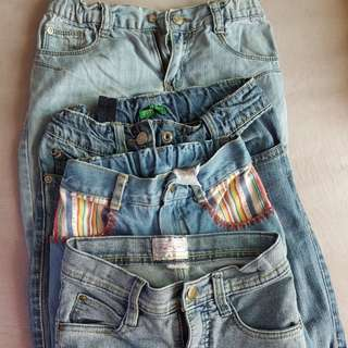 Jeans for girls 4 to 6 yrs old