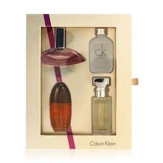 Calvin Klein Miniature Mini Perfume Gift Set For Women