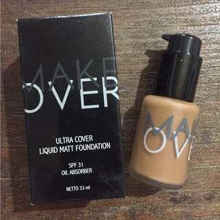 Makeover Ultra Cover Liquid Matt Foundation