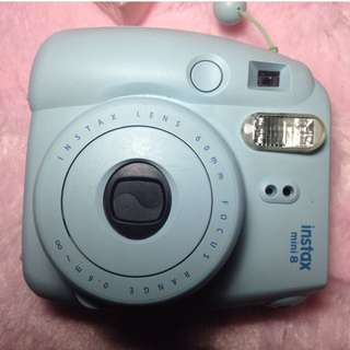 Instax Mini 8 Mint Green