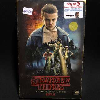 Stranger Things S1 Blu-ray