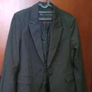 Zara outer/ jas/ blazer black