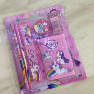 Kids birthday party door gift - my little pony