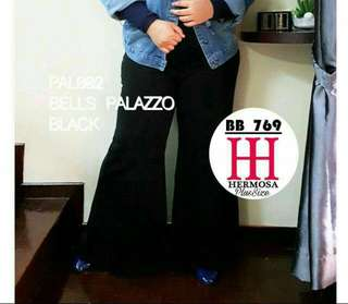 Black Bell Palazzo Pants (1 LEFT INSTOCK!!!)