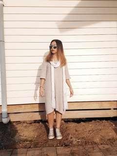 Witchery Grey Knit dress