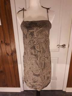 Spaghetti strap dress or long shirt