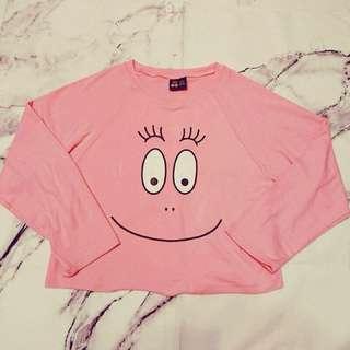 🚚 降! Airspace 跑跑先生 聯名 粉色 長袖T恤 #我的女裝可超取