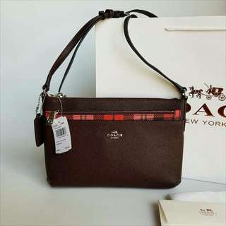✔FREE SHIP Coach Bag Crossbody Sling with Popup Wallet
