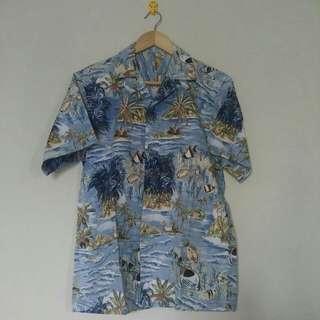 kemeja hawaii / baju pantai