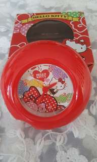 Hello Kitty Red Round Alarm Clock