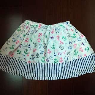 春夏二手🌸麗嬰房女童帆船⛵️短裙4T