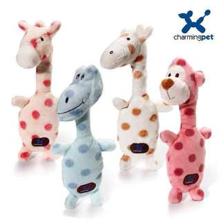 💙 PO💙 Charming Pet High Quality Velvet Soft Squeakin Squiggles plush toy