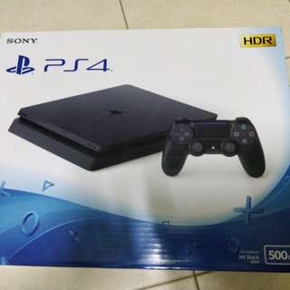 Brand new Sony PS4 Playstation 4 Slim Console 500GB (Black)