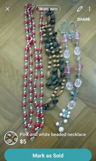 Necklace (all$5)
