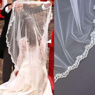 InStock - Kate Middleton inspired wedding veil