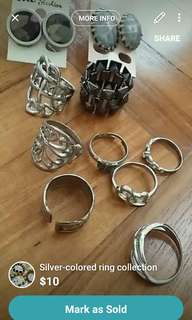 Rings(all $10)
