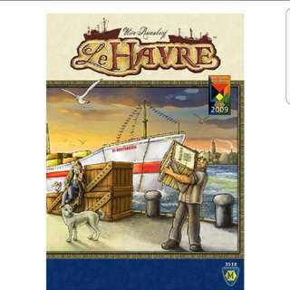 (Rare and Sleeved) Le Harve Board Game
