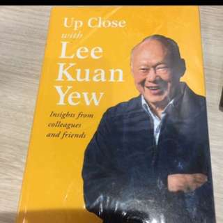 Upclose with Lee Kuan Yew