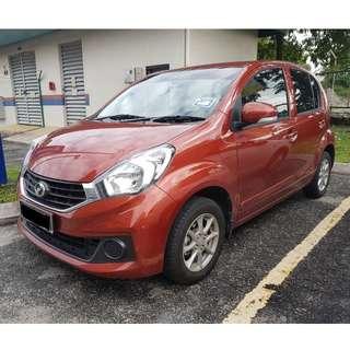 Kereta Sewa / Car Rental Myvi Auto KL 0192797800