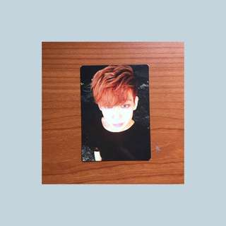 GOT7 BamBam Mad Photocard