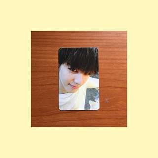 GOT7 Yugyeom Flight Log: Turbulence Photocard