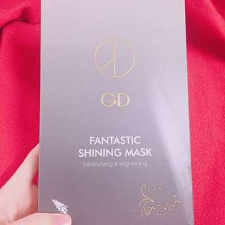 GD Fanstastic Shining Mask ( Moisturizing & Brightening