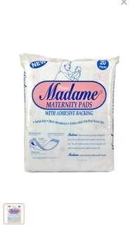 Madame maternity pads
