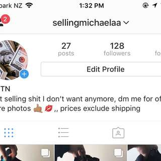 Check out my insta sell page!!!