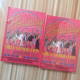ON HAND (SEALED) SNSD - Holiday WITH PC
