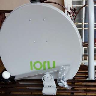 TV Satellite Disk Set (Without Astro/njol Package)