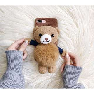 Casing Case Plush Beruang Iphone