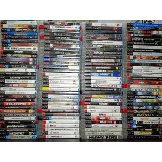 Pre-loved PS3 games